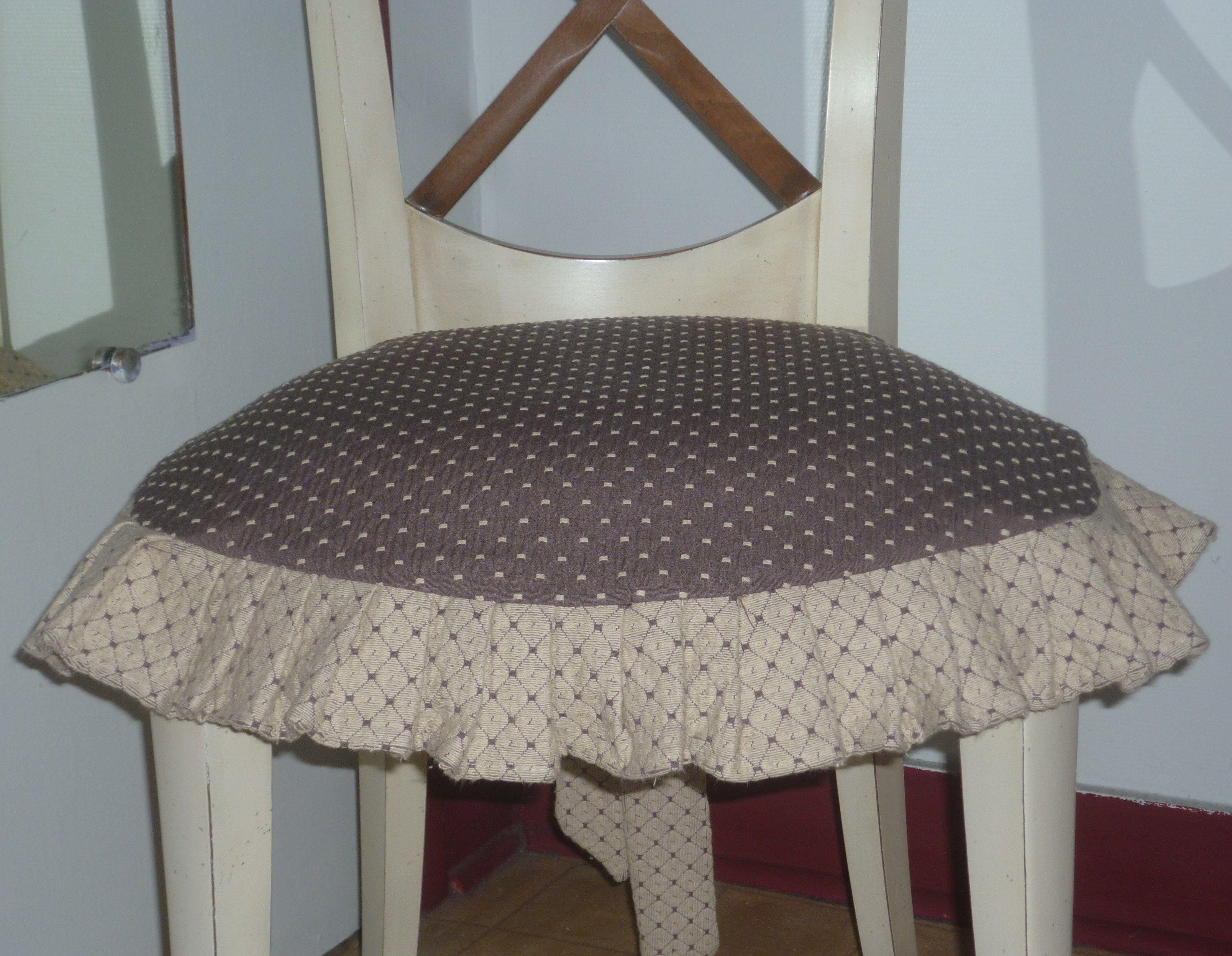 une galette de chaise. Black Bedroom Furniture Sets. Home Design Ideas
